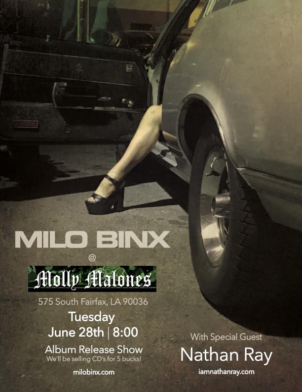 Milo Binx @ Molly Malone's