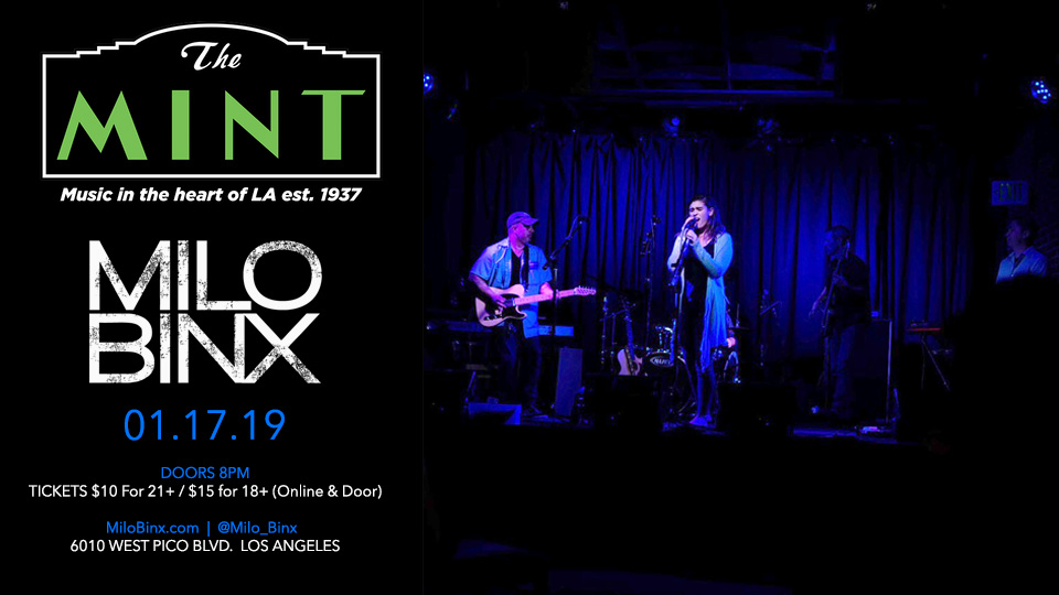 Milo Binx at The Mint